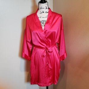 Pink In Medium Large 2019 New Style Agent Provocateur Novah Silk Kimono Black